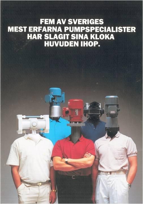 Tapflo first advertisement