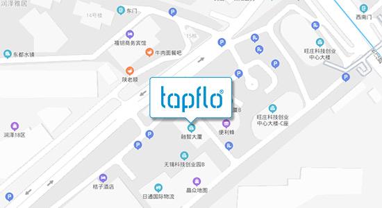 Map Tapflo China 中国特夫洛(无锡)泵业有限公司地图