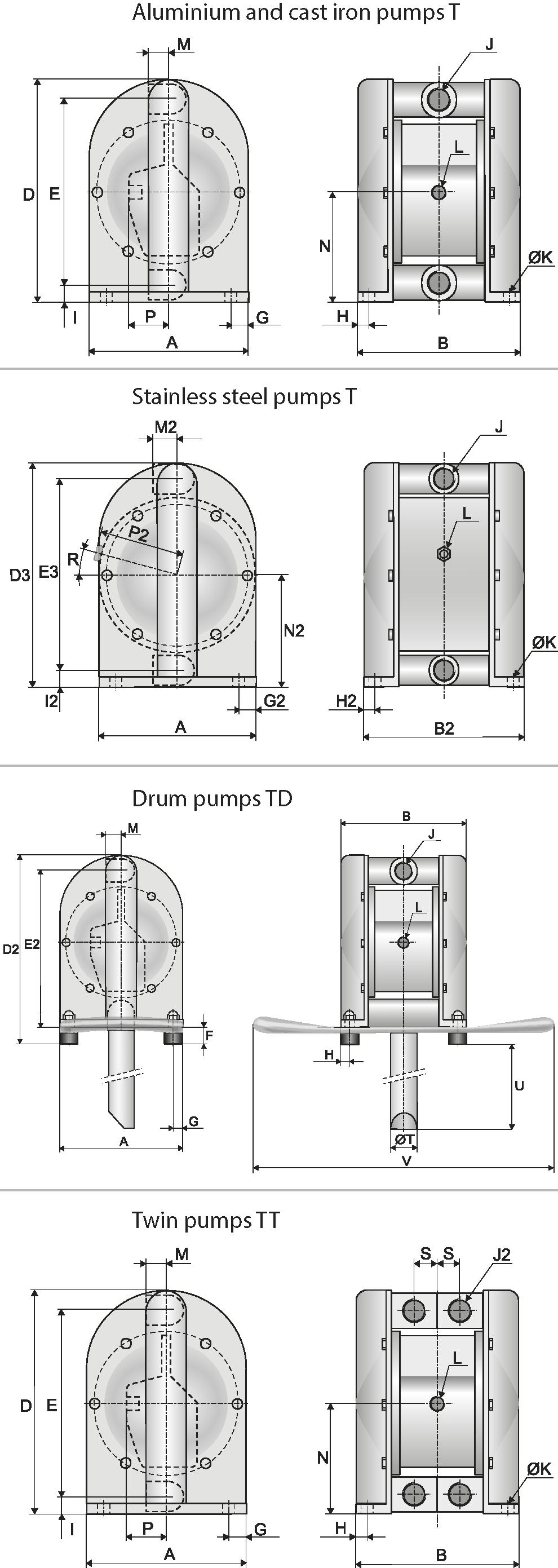 metal dimensional drawings